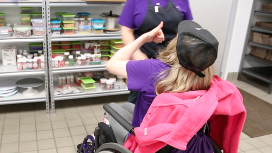 Bakery's secret ingredient is uplifting people with special needs