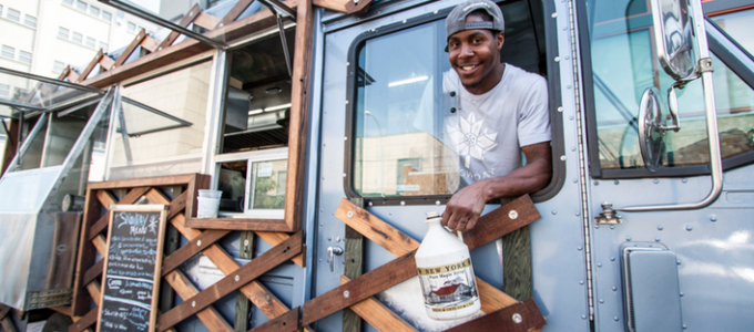 DRIVE CHANGE and its Snowday Food truck run by ex-prisoners